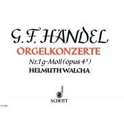 Orgelkonzert Nr. 1 g-Moll (opus 4/I)