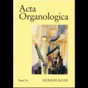 Acta Organologica Band 34