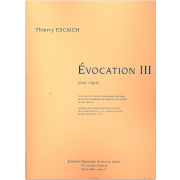 Évocation III pour orgue - Escaich, Thierry (*1965)