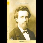 Drei Konzertstücke, op. 28