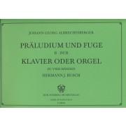 Präludium und Fuge B-Dur (zu vier Händen)