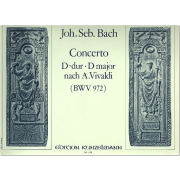 Concerto D-dur nach A. Vivaldi (BWV 972)