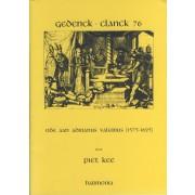 Gedenck-Clanck 76 - Ode aan Adrianus Valerius (1575-1625)