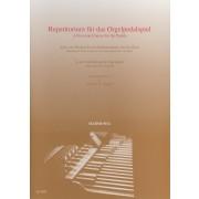 Repetitorium für das Orgelpedalspiel