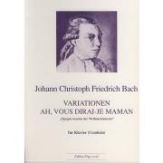 Variationen 'Ah, vous dirai-je maman' - Bach, Johann Christoph Friedrich (1732-1795)