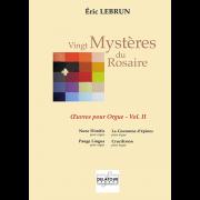 Vingt Mystères de Rosaire Vol. II - Lebrun, Eric (*1967)