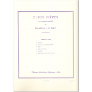 Douze Pieces vol.2 (7-12) - Litaize, Gaston-Gilbert (1909-1991)