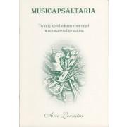 Musicapsaltaria - 20 kerstliederen voor orgel in een eenvoudige zetting
