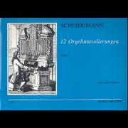 12 Orgelintavolierungen, Band 2