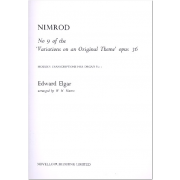 Nimrod no.9 of the Variations on a Original Thema opus 36