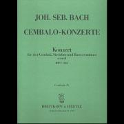 Konzert für 4 Cembali a-moll BWV 1065 (Cembalo 4)