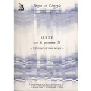 """Suite sur le psaume 23 """"L'Eternel est mon berger"""" (Orgue et Liturgie 64) - Girod, Marie-Louise (1915-2014)"""
