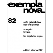 Arvo Pärt - Trivium / Sofia Gubaidulina - Hell und dunkel / for organ  - Collection