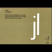 Fünf Choralvorspiele für orgel
