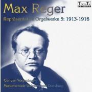 Max Reger Repräsentative Orgelwerke 5: 1913-1916 - Wageningen, Cor van