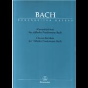Klavierbüchlein für Wilhelm Friedemann Bach - Bach, Johann Sebastian (1685-1750)