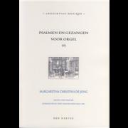 Psalmen en Gezangen voor orgel 6 - Jong, Margaretha Christina de (*1961)