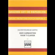 24 Capricetten voor 't Clavier - Lustig, Jacob Wilhelm
