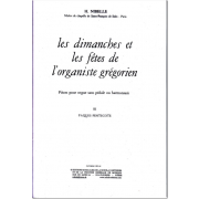 Les Dimanches et les Fêtes de l'Organiste Grégorien, Vol. 3