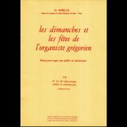Les Dimanches et les Fêtes de l'Organiste Grégorien, Vol. 7
