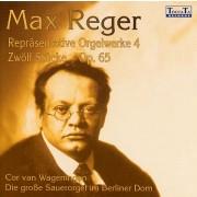 Max Reger Repräsentative Orgelwerke 4: Zwölf Stücke op.65 - Wageningen, Cor van