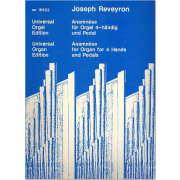 Anamnèse for Organ for 4 hands and pedal - Reveyron, Joseph (1917-2005)