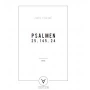 Psalmen (25, 145, 24) - Hage, Jan (*1964)