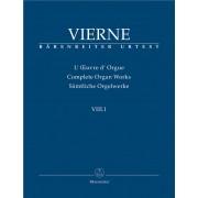 L'Oeuvre d'Orgue VIII.1 - Vierne, Louis Victor Jules (1870-1937)