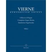 L'Oeuvre d'Orgue VIII.2 - Vierne, Louis Victor Jules (1870-1937)