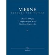 L'Oeuvre d'Orgue IX - Vierne, Louis Victor Jules (1870-1937)