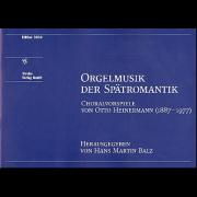 Orgelmusik der Spätromantik