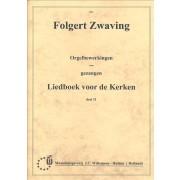 Orgelbewerkingen van Gezangen LvdK dl.11