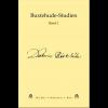 Buxtehude-Studien, Band 1